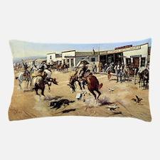 cowboy art Pillow Case