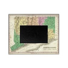 Vintage Map of Connecticut (1827) Picture Frame