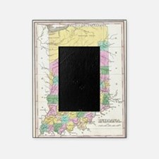 Vintage Map of Indiana (1827) Picture Frame