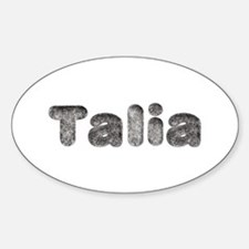 Talia Wolf Oval Decal
