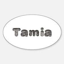 Tamia Wolf Oval Decal