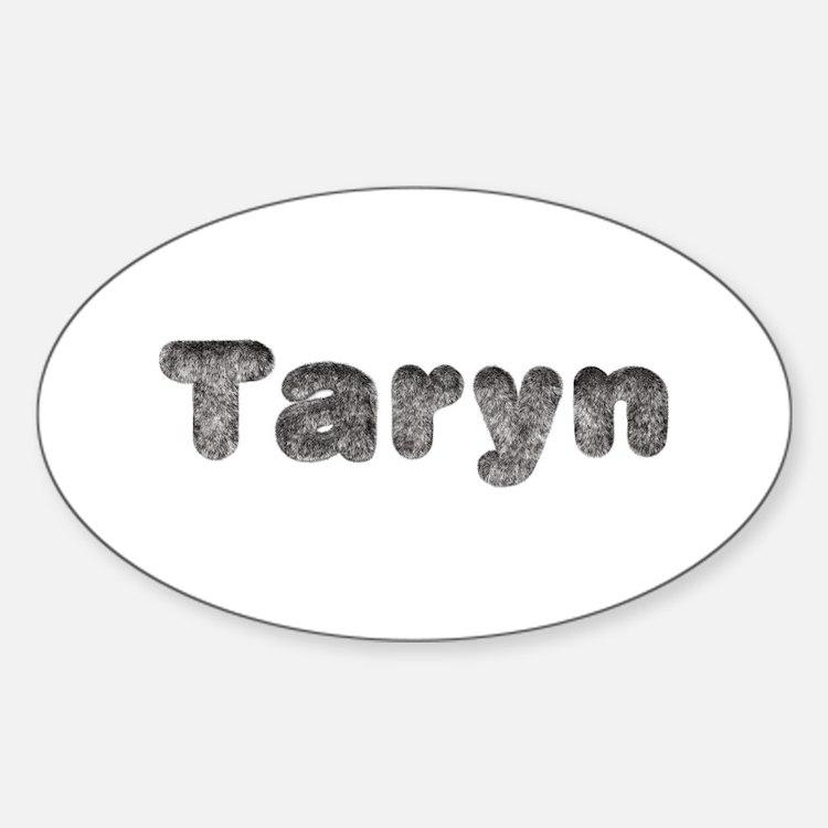 Taryn Wolf Oval Decal