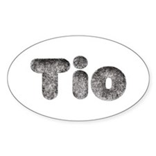 Tio Wolf Oval Decal
