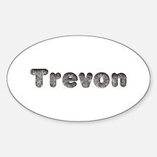 Trevon Wolf Oval Decal