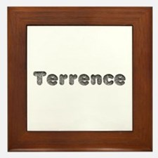 Terrence Wolf Framed Tile