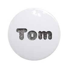 Tom Wolf Round Ornament
