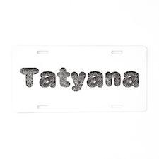 Tatyana Wolf Aluminum License Plate