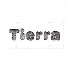 Tierra Wolf Aluminum License Plate