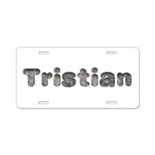 Tristian Wolf Aluminum License Plate
