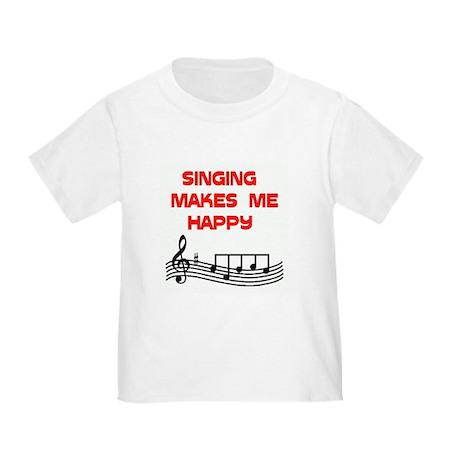 SINGING Toddler T-Shirt