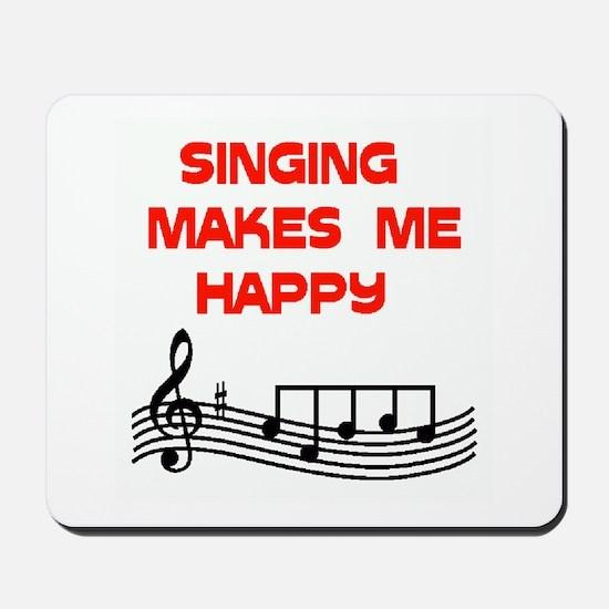 SINGING Mousepad
