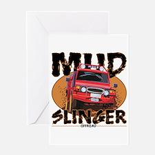 Mud Slinger Offroad Greeting Card
