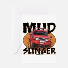 Mud Slinger Offroad Greeting Cards (Pk of 20)
