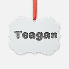 Teagan Wolf Ornament