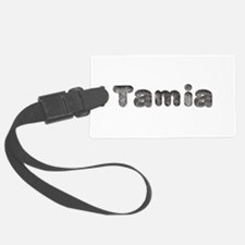 Tamia Wolf Luggage Tag