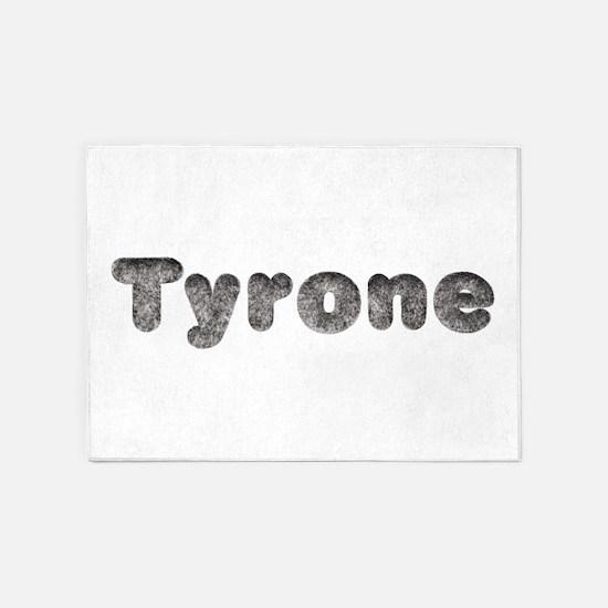 Tyrone Wolf 5'x7' Area Rug