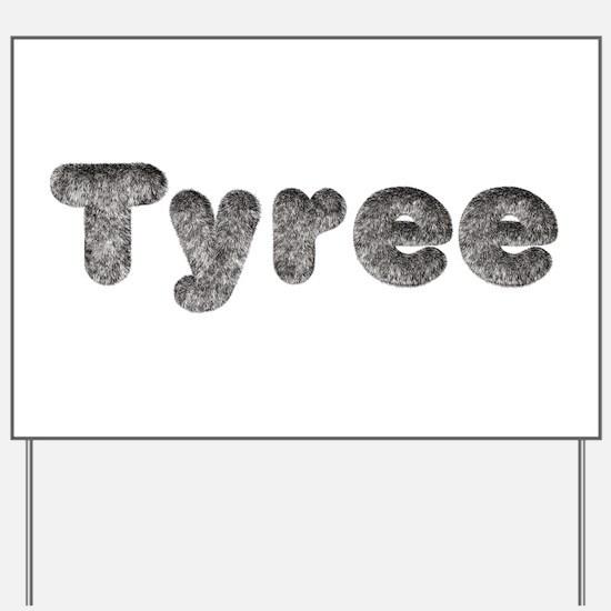 Tyree Wolf Yard Sign