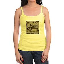 My Tractor T-Shirt Jr.Spaghetti Strap