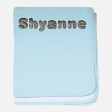 Shyanne Wolf baby blanket