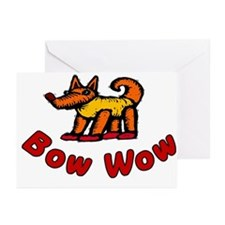 Bow Wow Greeting Cards (Pk of 10)