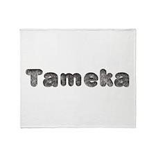 Tameka Wolf Throw Blanket