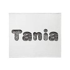 Tania Wolf Throw Blanket