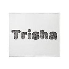 Trisha Wolf Throw Blanket