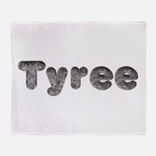 Tyree Wolf Throw Blanket
