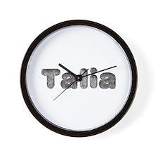 Talia Wolf Wall Clock