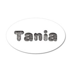 Tania Wolf 20x12 Oval Wall Decal