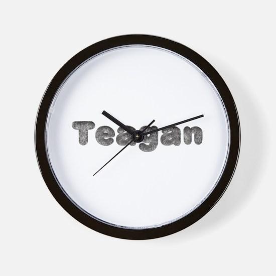 Teagan Wolf Wall Clock
