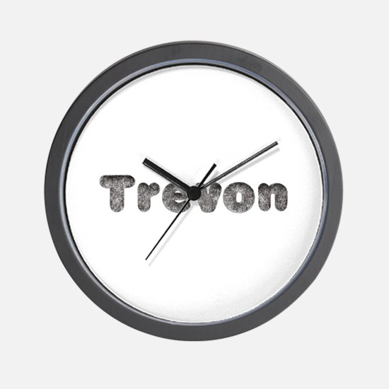 Trevon Wolf Wall Clock