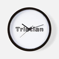 Tristian Wolf Wall Clock