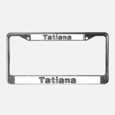 Tatiana Wolf License Plate Frame