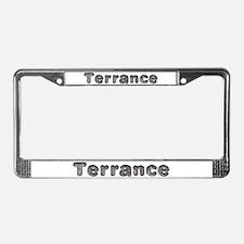 Terrance Wolf License Plate Frame