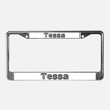 Tessa Wolf License Plate Frame