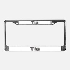 Tia Wolf License Plate Frame