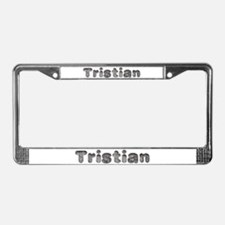 Tristian Wolf License Plate Frame