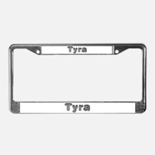 Tyra Wolf License Plate Frame