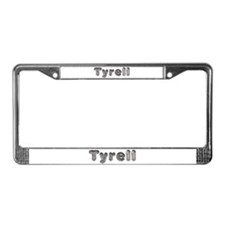 Tyrell Wolf License Plate Frame