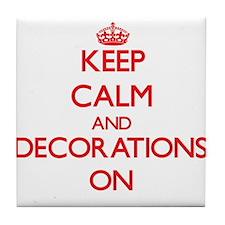 Decorations Tile Coaster