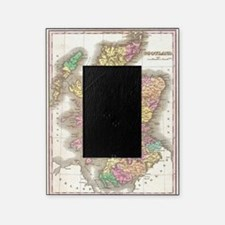 Vintage Map of Scotland (1827) Picture Frame