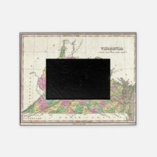 Vintage Map of Virginia (1827) Picture Frame