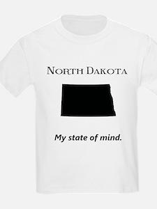 North Dakota - My State of Mind T-Shirt