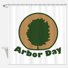 \Arbor Day Maple Arbor Day Shower Curtain