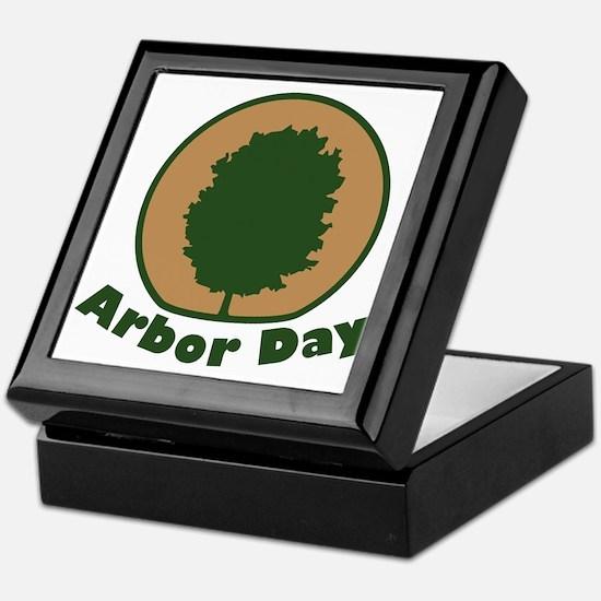 \Arbor Day Maple Arbor Day Keepsake Box