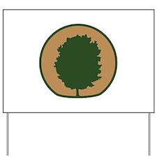 Arbor Day Maple Yard Sign