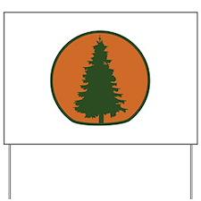 Arbor Day Evergreen Yard Sign