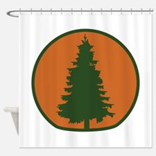 Arbor Day Evergreen Shower Curtain