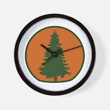 Arbor Day Evergreen Wall Clock